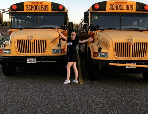 Американские школьные автобусы