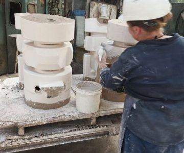 Работа на сталелитейном заводе